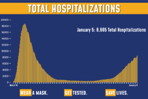 New York COVID hospitalization numbers